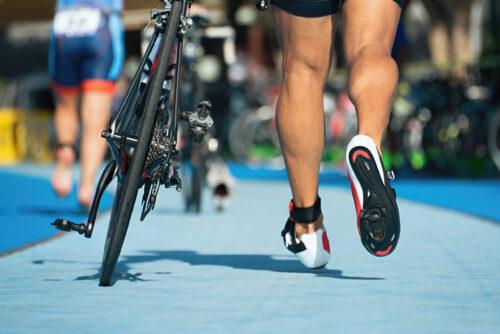Wechselzone Rad Triathlon