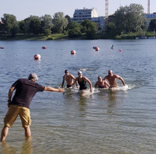 Open Water Training Alte Donau