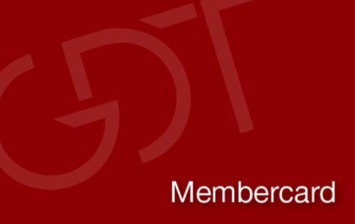 GDT membercard