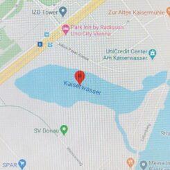 Lageplan Kaiserwasser